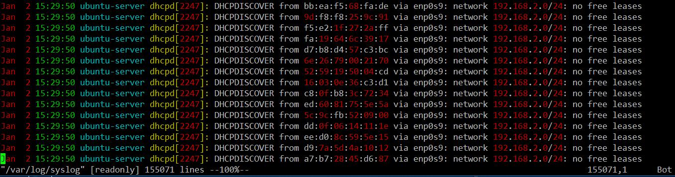 通过查看官方DHCP服务器的日志文件验证饥饿攻击.png